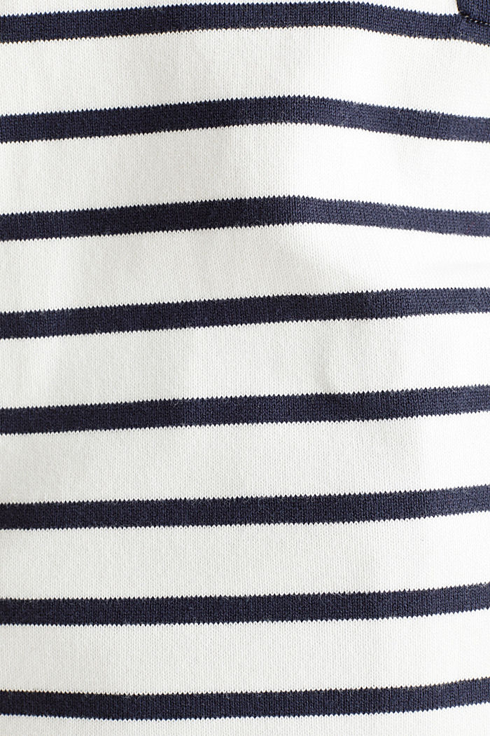 Trui met korte mouwen en borstzak, OFF WHITE, detail image number 4