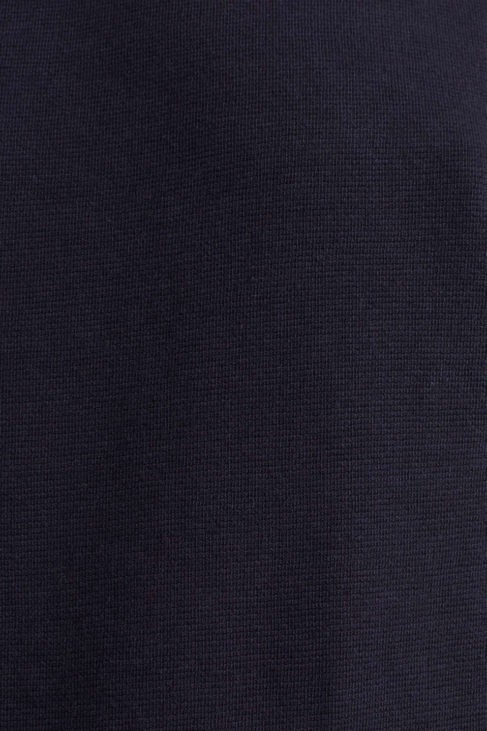 Sweatshirt with striped cuffs, NAVY, detail image number 4