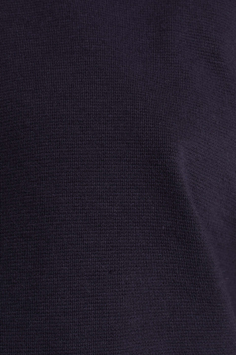 Boxy hoodie with striped cuffs, NAVY, detail image number 4