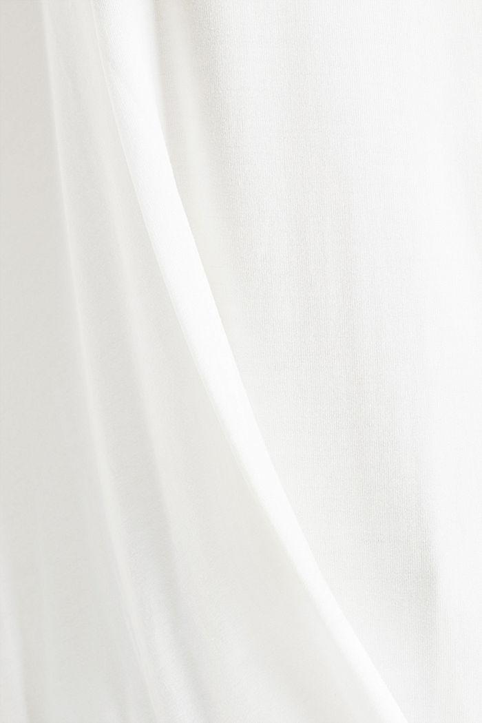 CURVY longsleeve met wikkellook, OFF WHITE, detail image number 4