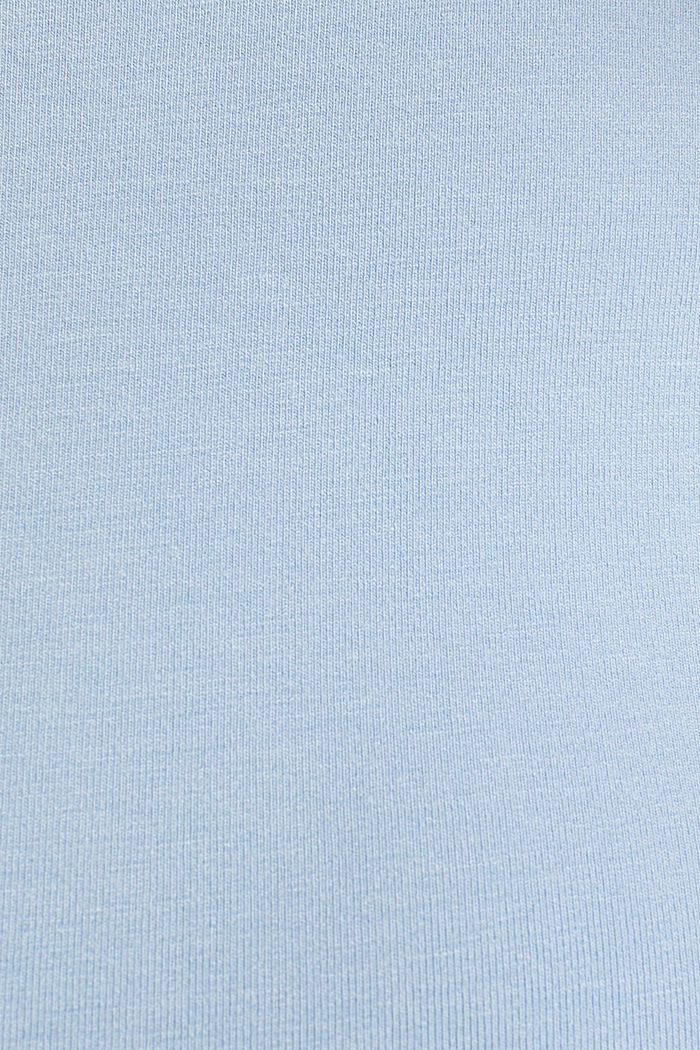 Stretch jersey top with spaghetti straps, LIGHT BLUE, detail image number 4