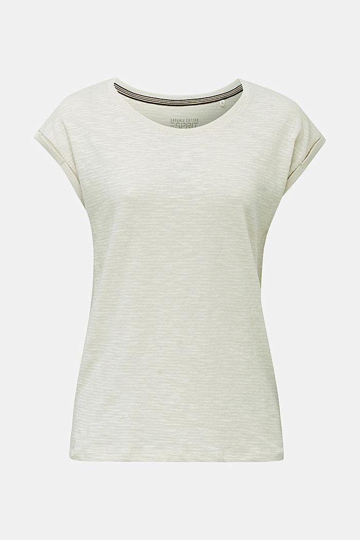 Slub-Shirt mit lässigem Schnitt, SAND, detail image number 7