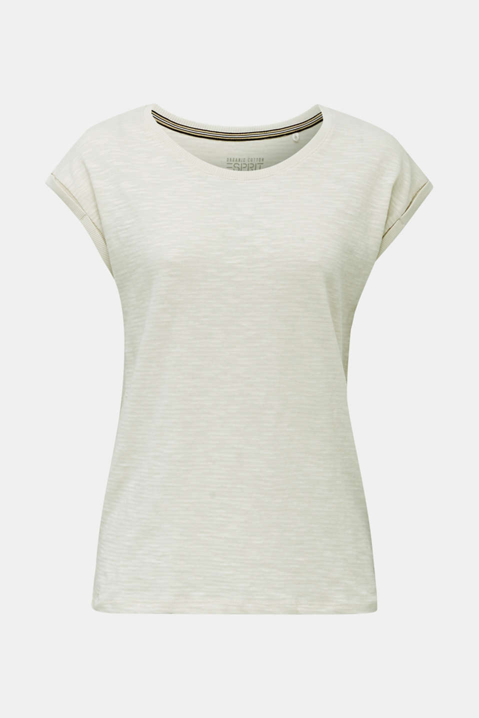 Slub top with a casual cut, SAND 4, detail image number 7