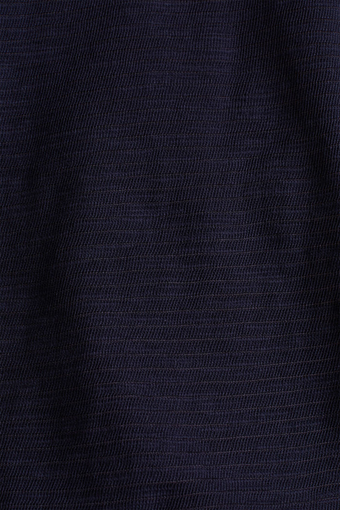 Slub-Shirt mit lässigem Schnitt, NAVY, detail image number 4
