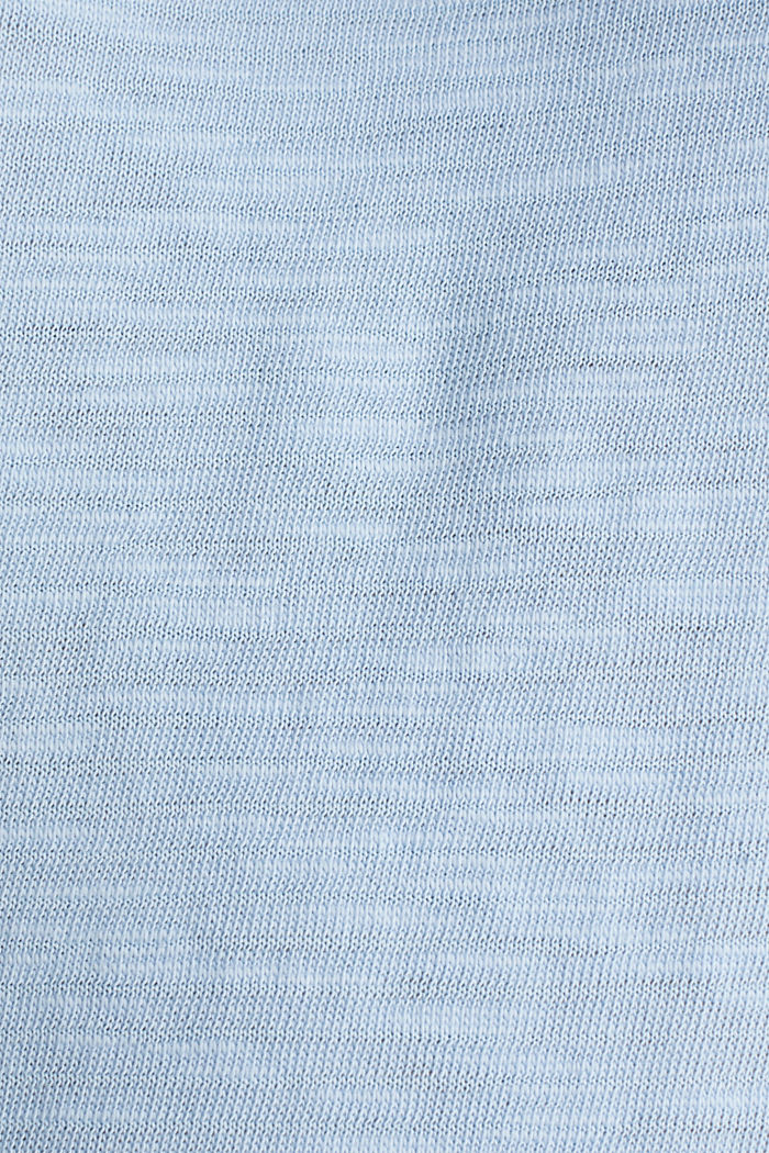 Slub-Shirt mit lässigem Schnitt, LIGHT BLUE, detail image number 3