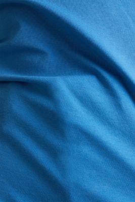Stretch cotton vest, BRIGHT BLUE 3, detail