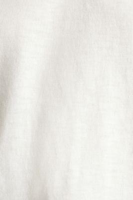 Slub sweatshirt made of 100% organic cotton, OFF WHITE, detail