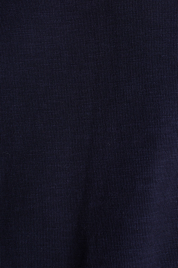 Slub sweatshirt made of 100% organic cotton, NAVY, detail image number 4