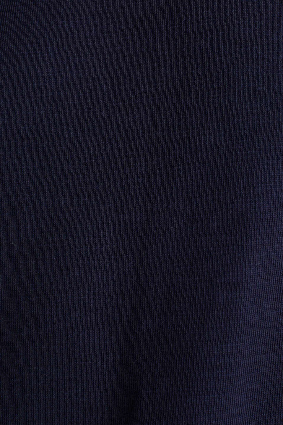 Slub sweatshirt made of 100% organic cotton, NAVY, detail image number 4