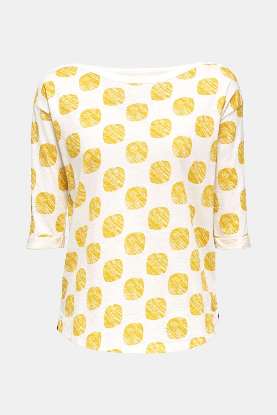 T-Shirts, YELLOW, detail image number 6