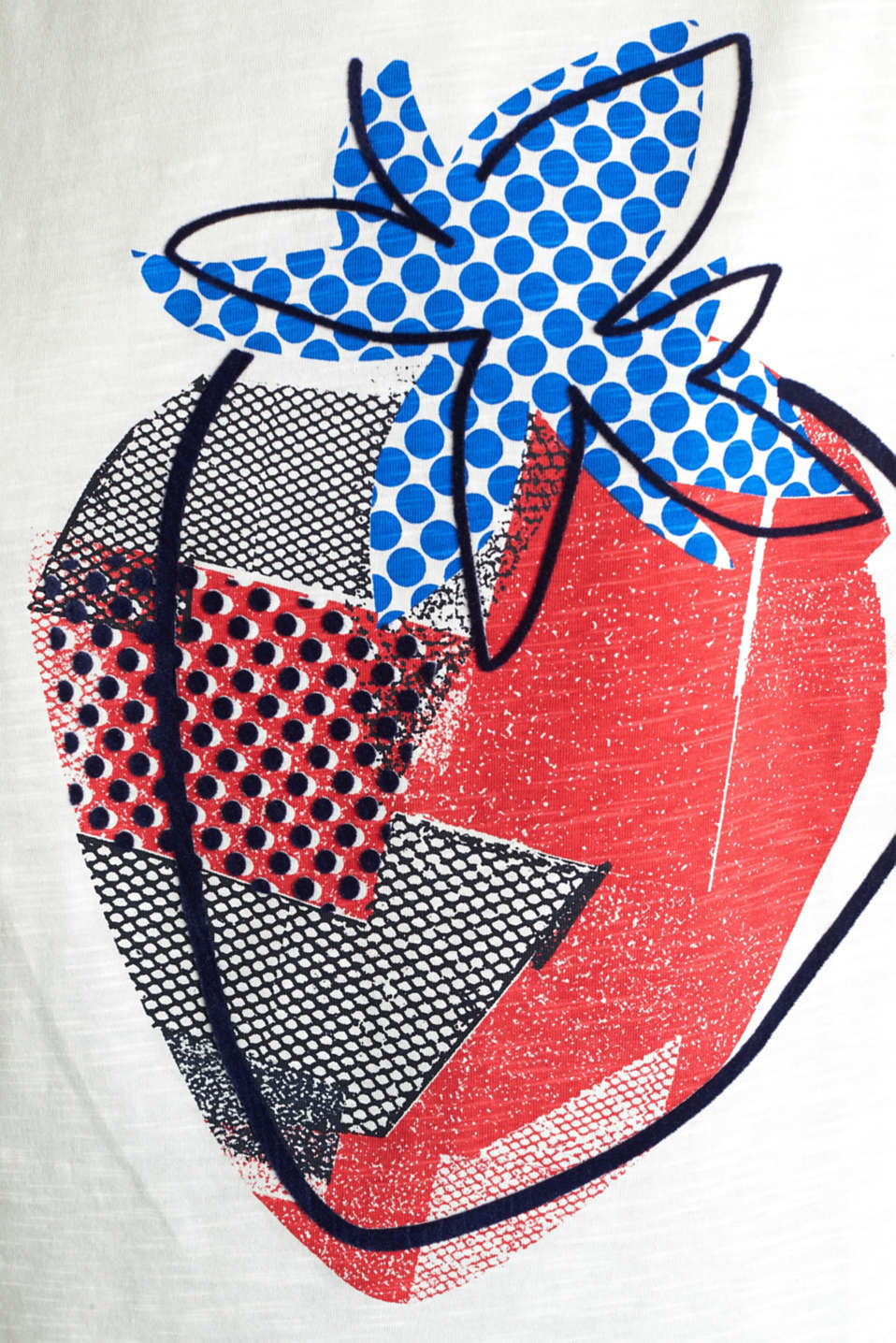 Print T-shirt in 100% cotton, OFF WHITE, detail image number 4
