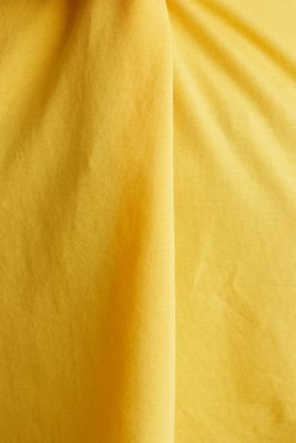 CURVY top with wavy details, YELLOW 3, detail