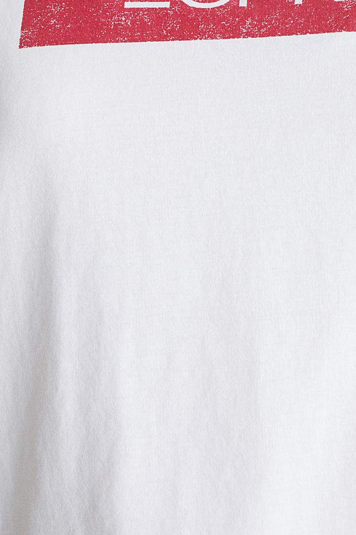 CURVY logotopp, 100% ekologisk bomull, WHITE, detail image number 3