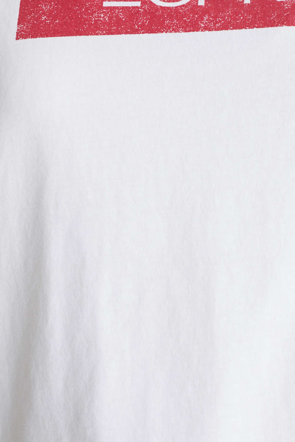 CURVY logo top, 100% organic cotton, WHITE, detail image number 3