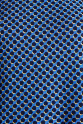 Print T-Shirt with flounce hem, LIGHT BLUE 4, detail