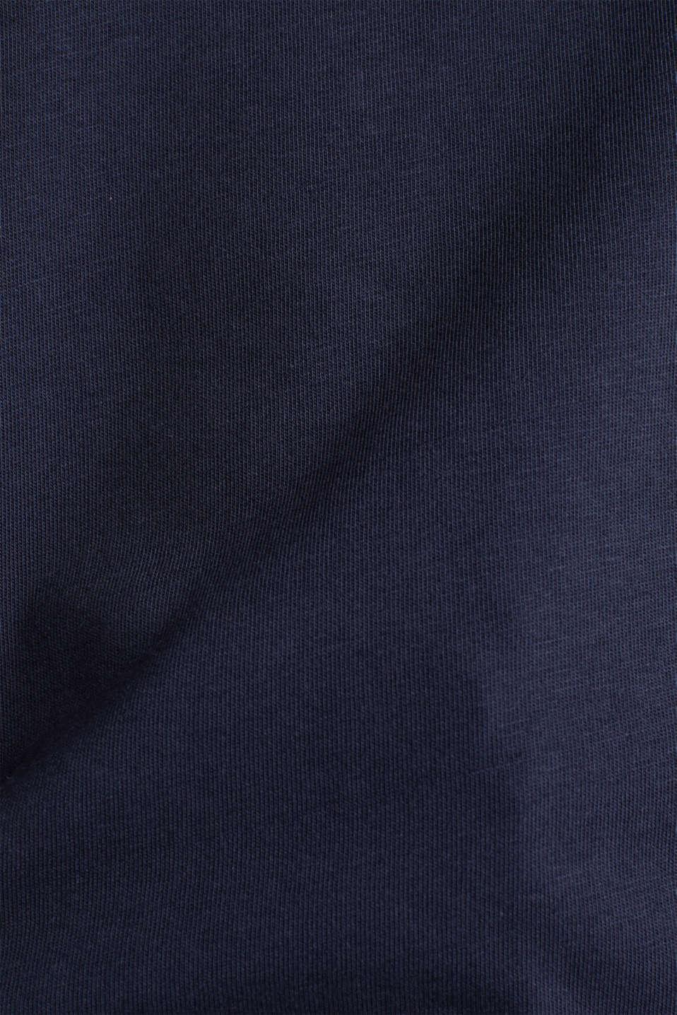 T-shirt with turn-up sleeves, NAVY, detail image number 4
