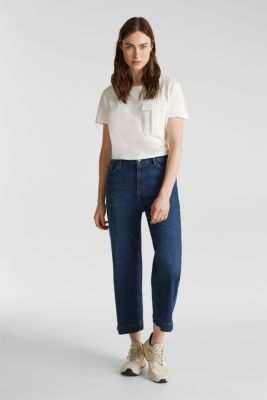 Utility top with a breast pocket, OFF WHITE, detail