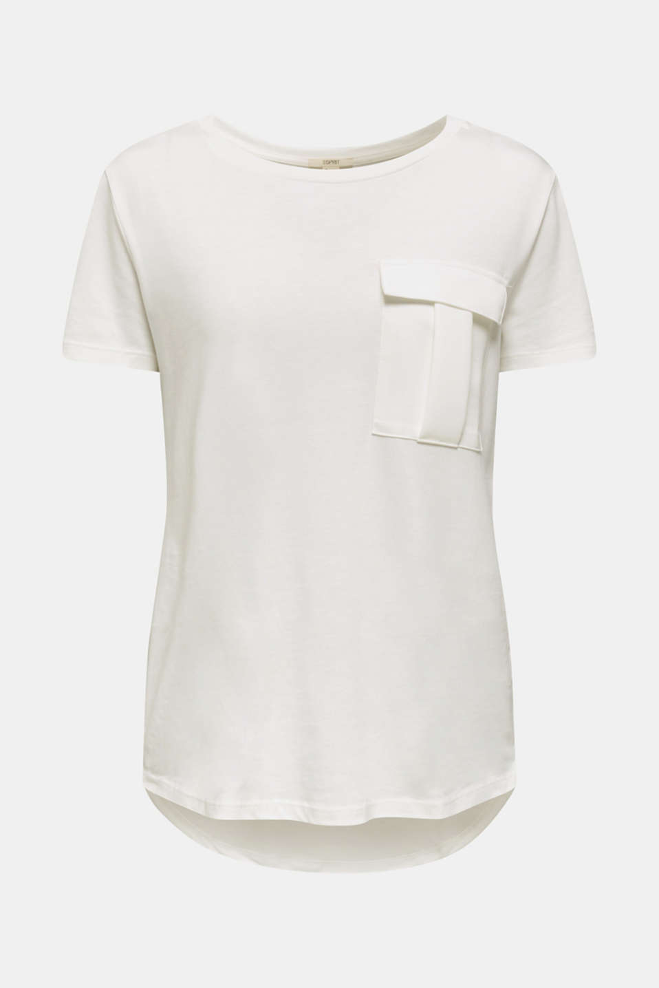 Utility top with a breast pocket, OFF WHITE, detail image number 6