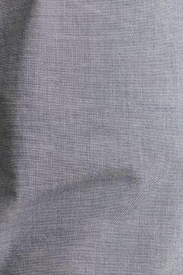 Chambray chinos in stretch cotton, DARK BLUE 5, detail