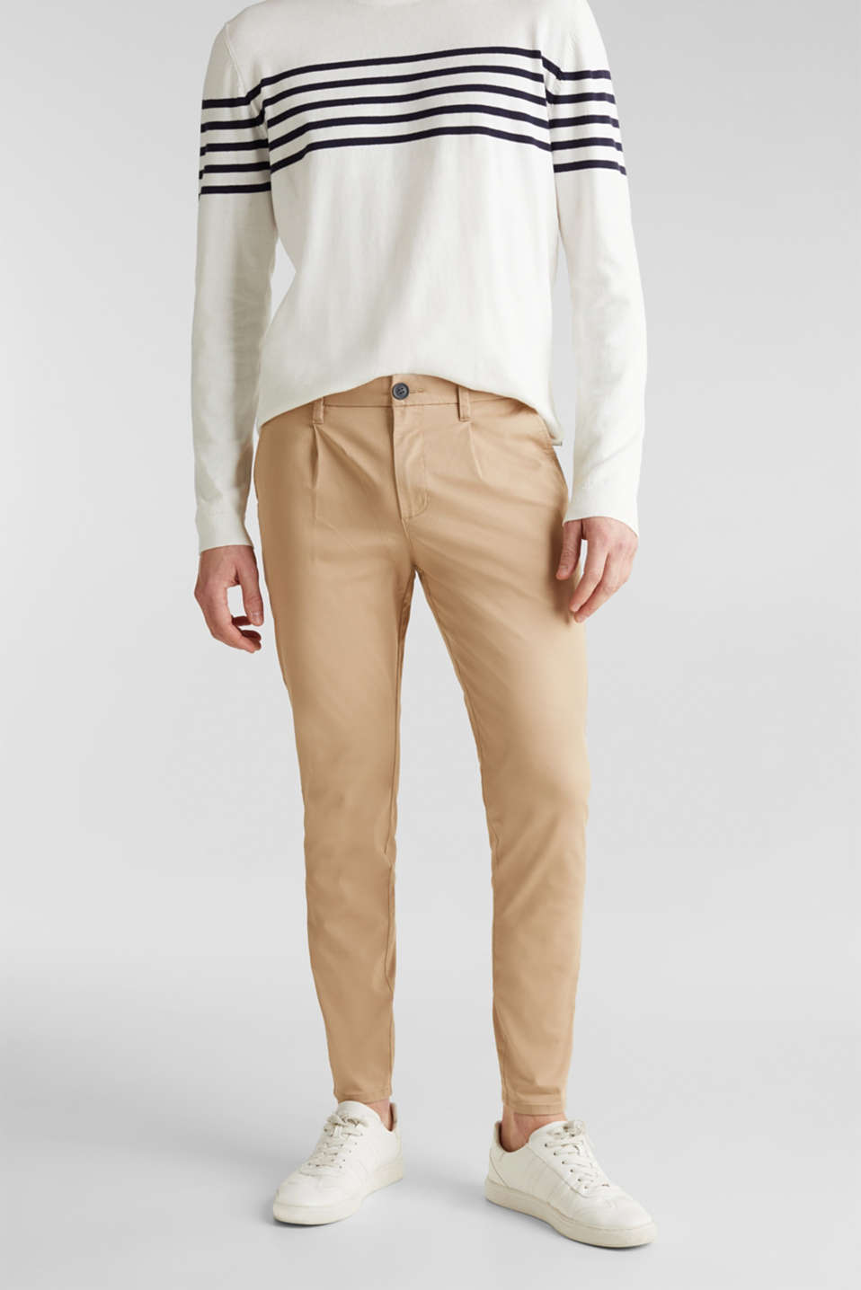 Esprit - Chino stretch, COOLMAX®
