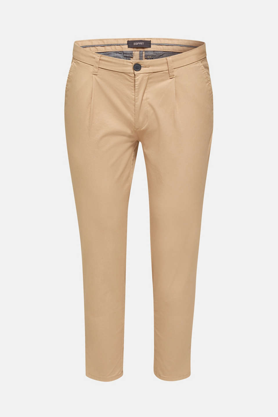 Stretch chinos with COOLMAX®, BEIGE, detail image number 5
