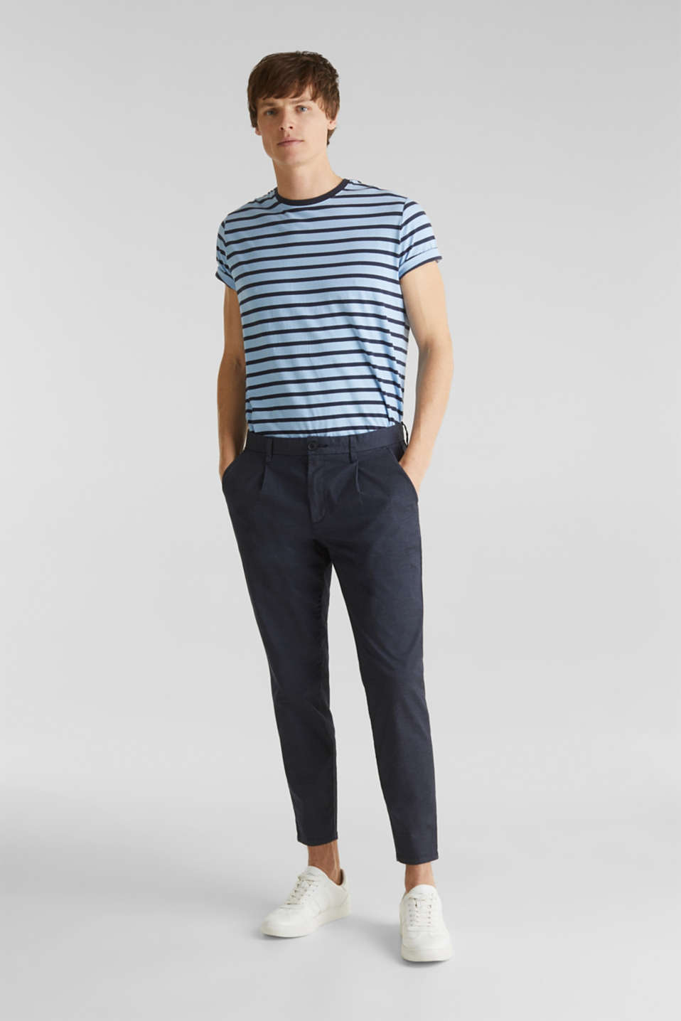 Esprit - Stretch-Chino mit COOLMAX®