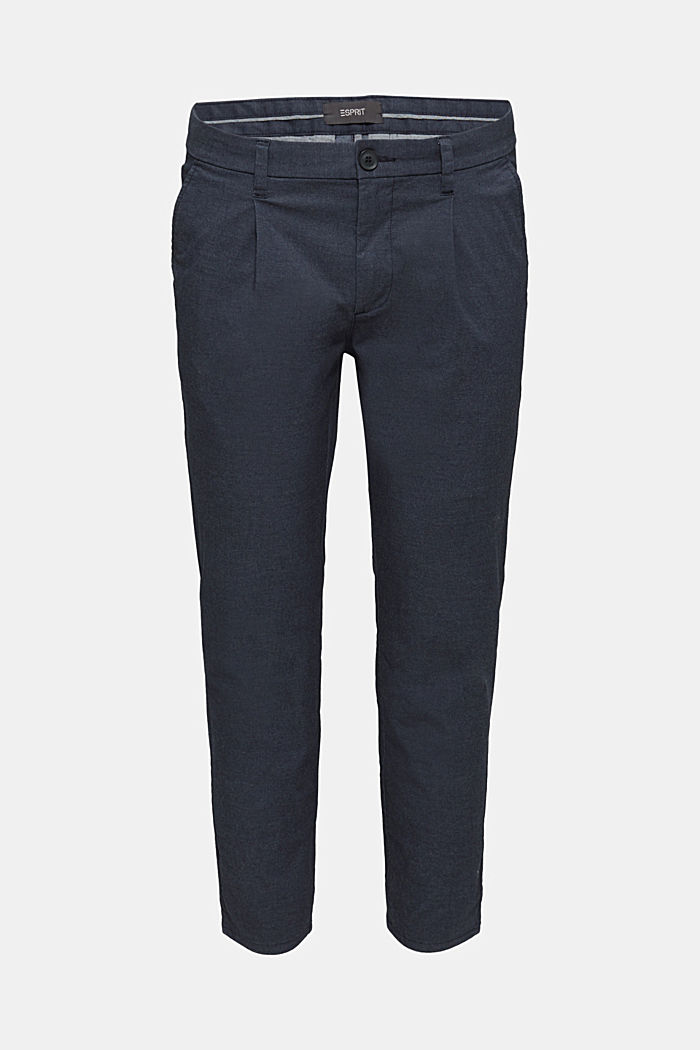 Stretch chinos with COOLMAX®