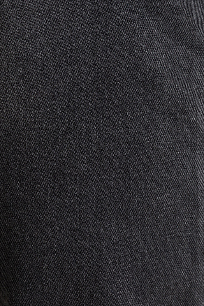 Denim met stretch en washed-out effect, BLACK MEDIUM WASHED, detail image number 2