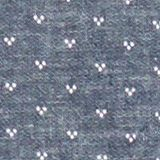 Blended linen: Shirt with a micro pattern, DARK BLUE 4, swatch