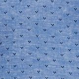 Blended linen: Shirt with a micro pattern, LIGHT BLUE 4, swatch
