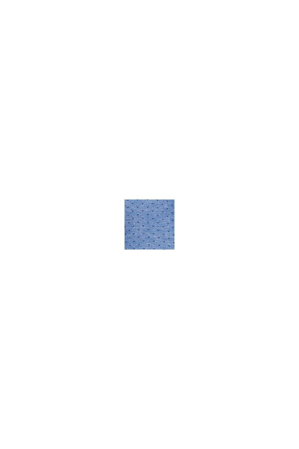 Mit Leinen: Hemd mit Micro-Muster, LIGHT BLUE, swatch