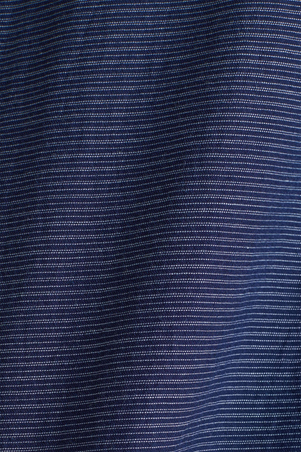 Shirt with band collar, 100% cotton, DARK BLUE 3, detail image number 4