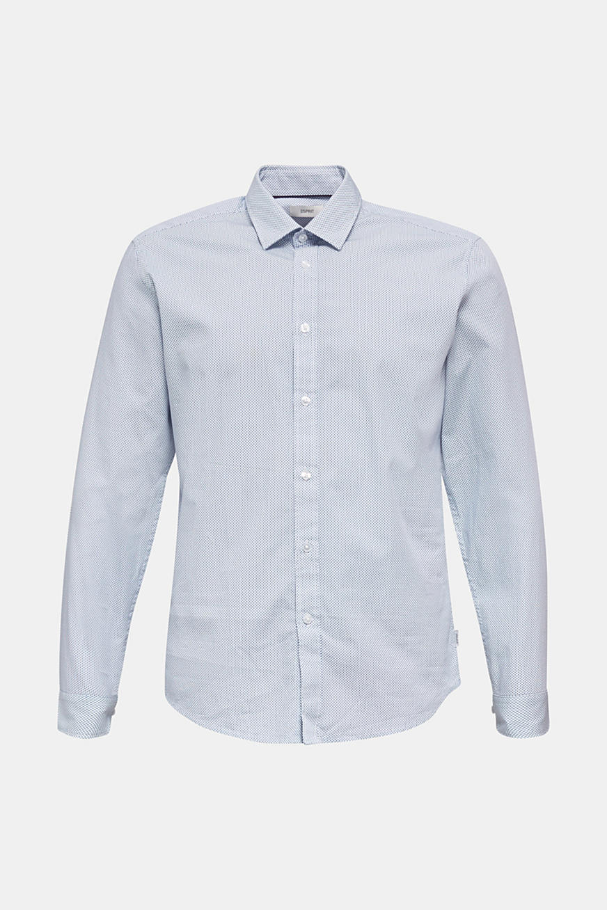 Textured shirt made of 100% cotton
