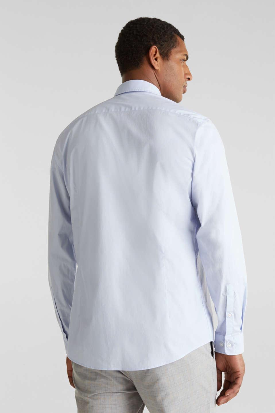 Plain-coloured shirt with COOLMAX®, LIGHT BLUE, detail image number 3