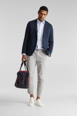 Plain-coloured shirt with COOLMAX®, LIGHT BLUE, detail