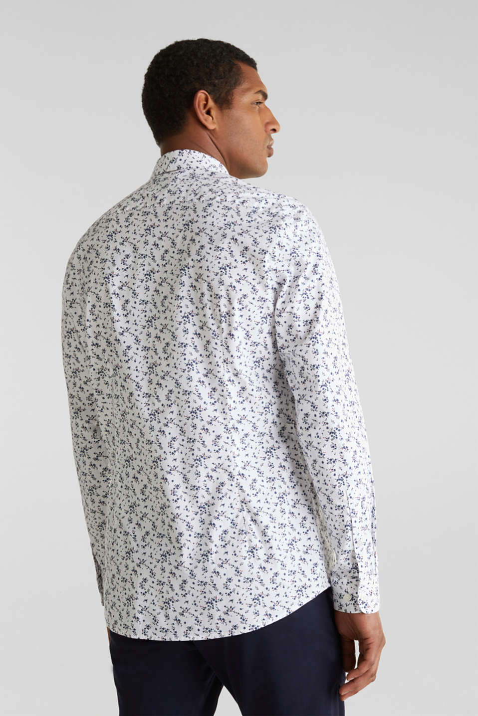 Floral shirt with COOLMAX®, WHITE 4, detail image number 3