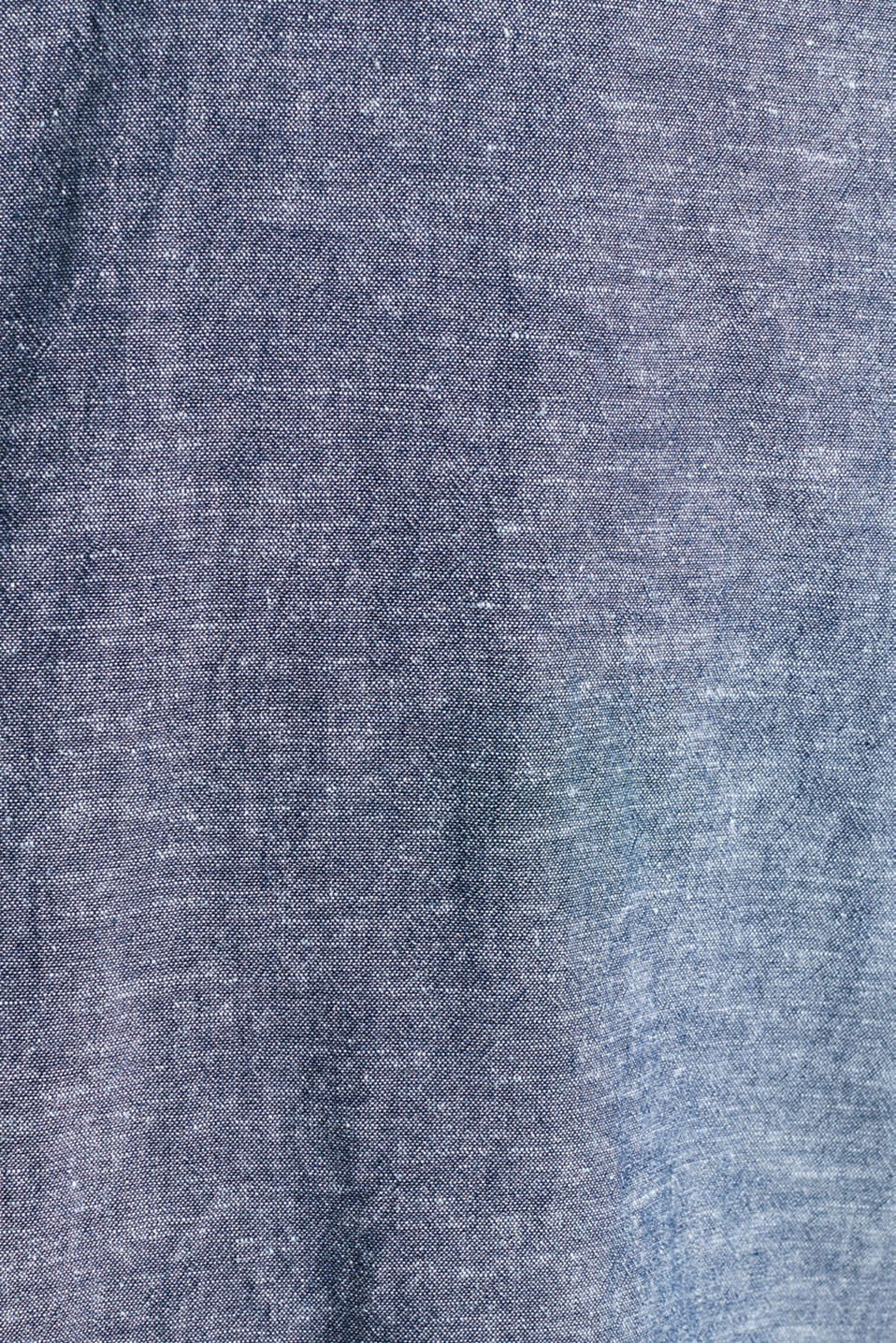 Shirt with linen and a button-down collar, NAVY 5, detail image number 4