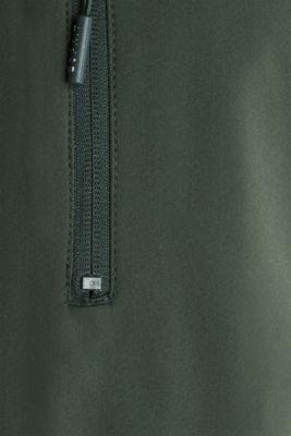 Outdoor jacket with an adjustable hood, KHAKI GREEN, detail