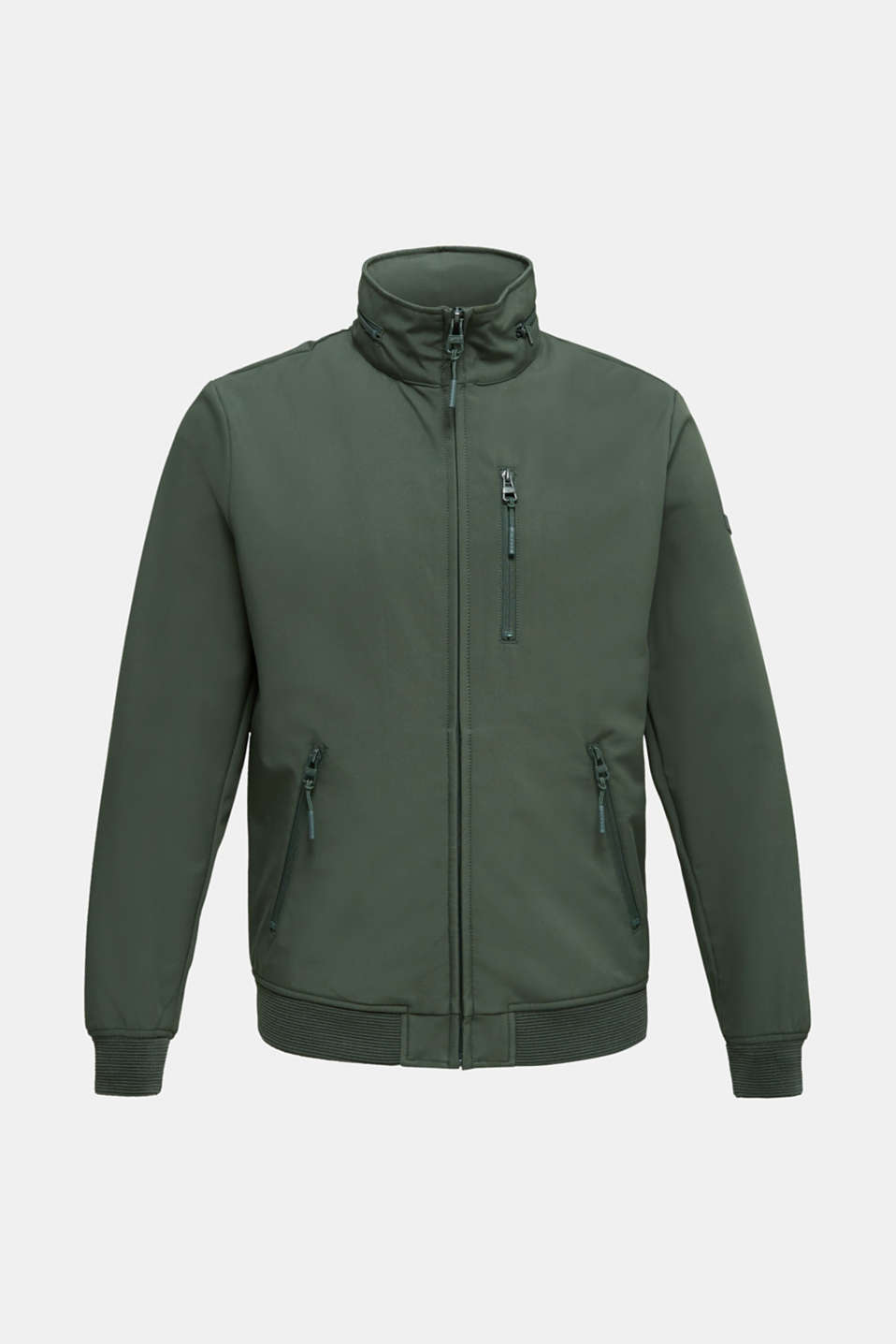 Outdoor jacket with an adjustable hood, KHAKI GREEN, detail image number 6