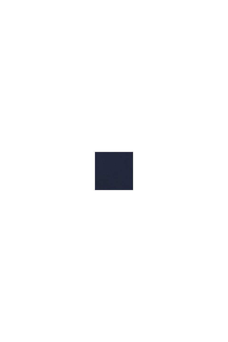 Jacka med avtagbar huva, DARK BLUE, swatch