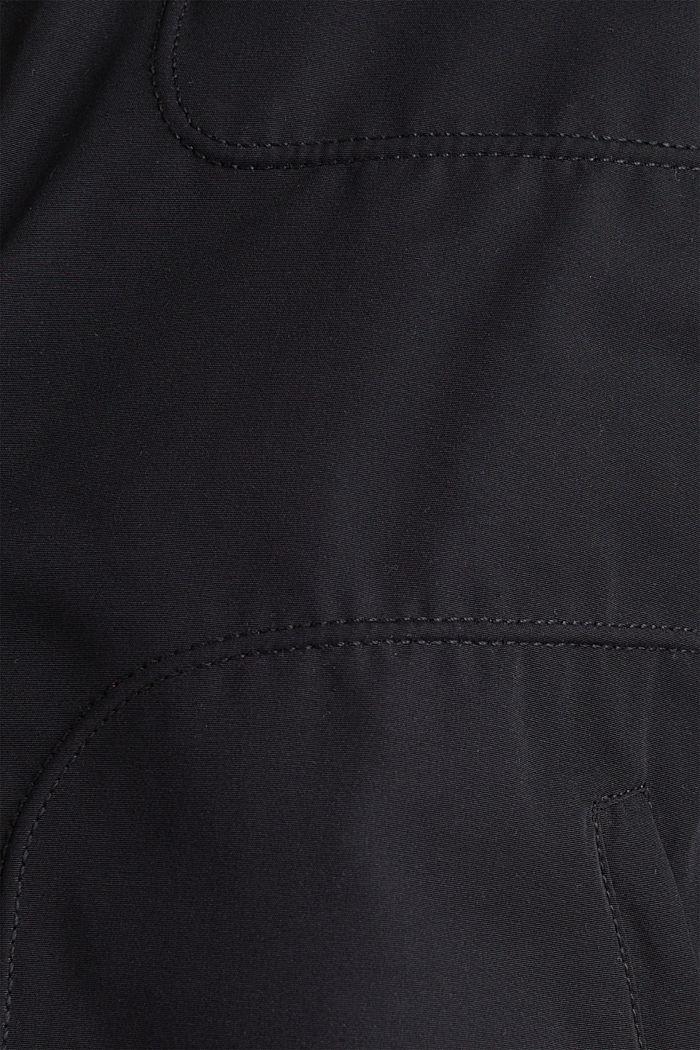 Vadderad bikerjacka, BLACK, detail image number 4