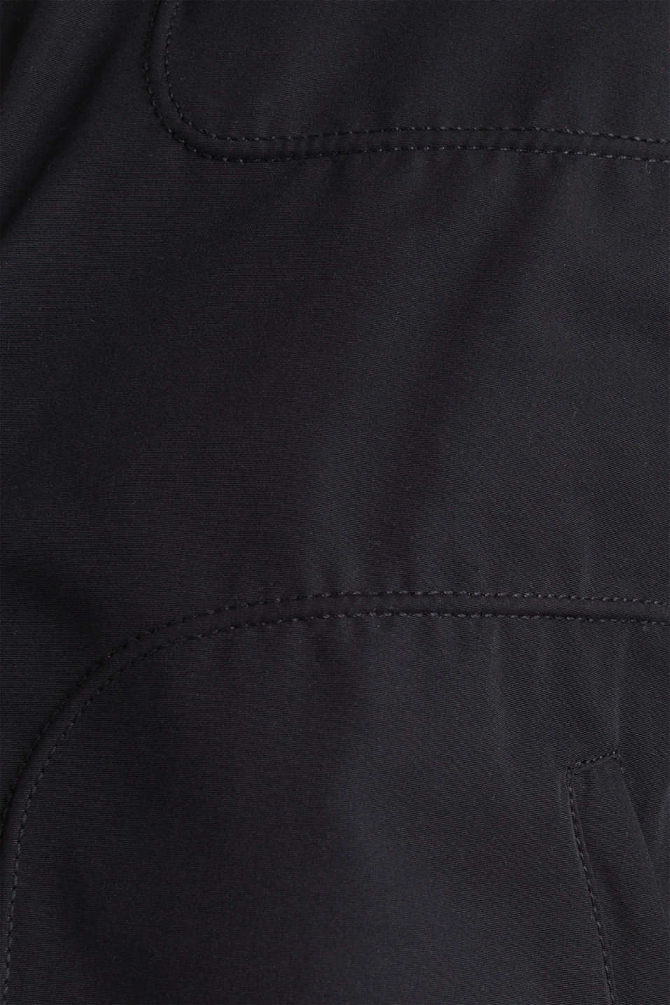Padded biker jacket, BLACK, detail image number 4