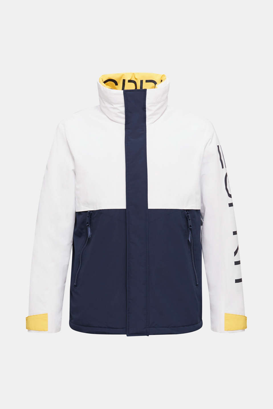 Outdoor jacket with a logo print, WHITE 2, detail image number 7