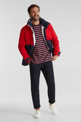Outdoor jacket with a logo print, RED 2, detail