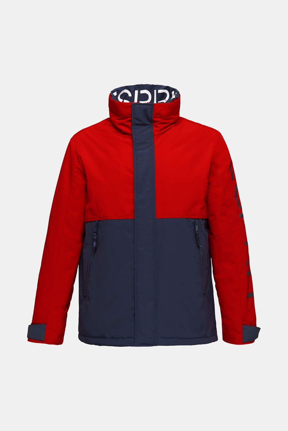 Outdoor jacket with a logo print, RED 2, detail image number 5