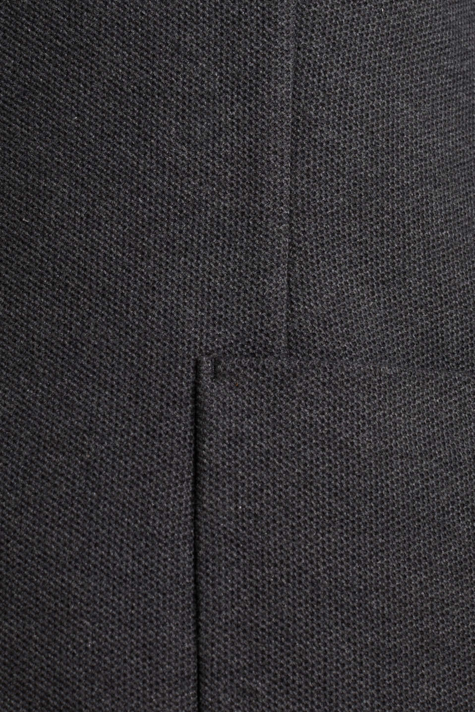 sports jacket made of 100% cotton, DARK GREY 5, detail image number 4