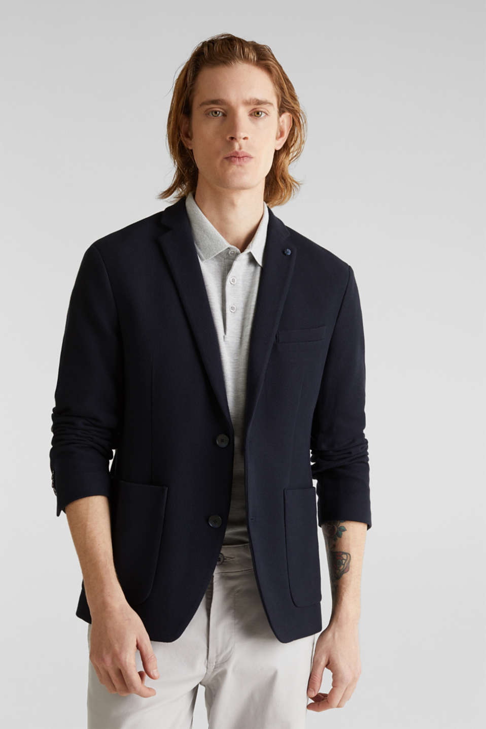 Esprit - sports jacket made of 100% cotton