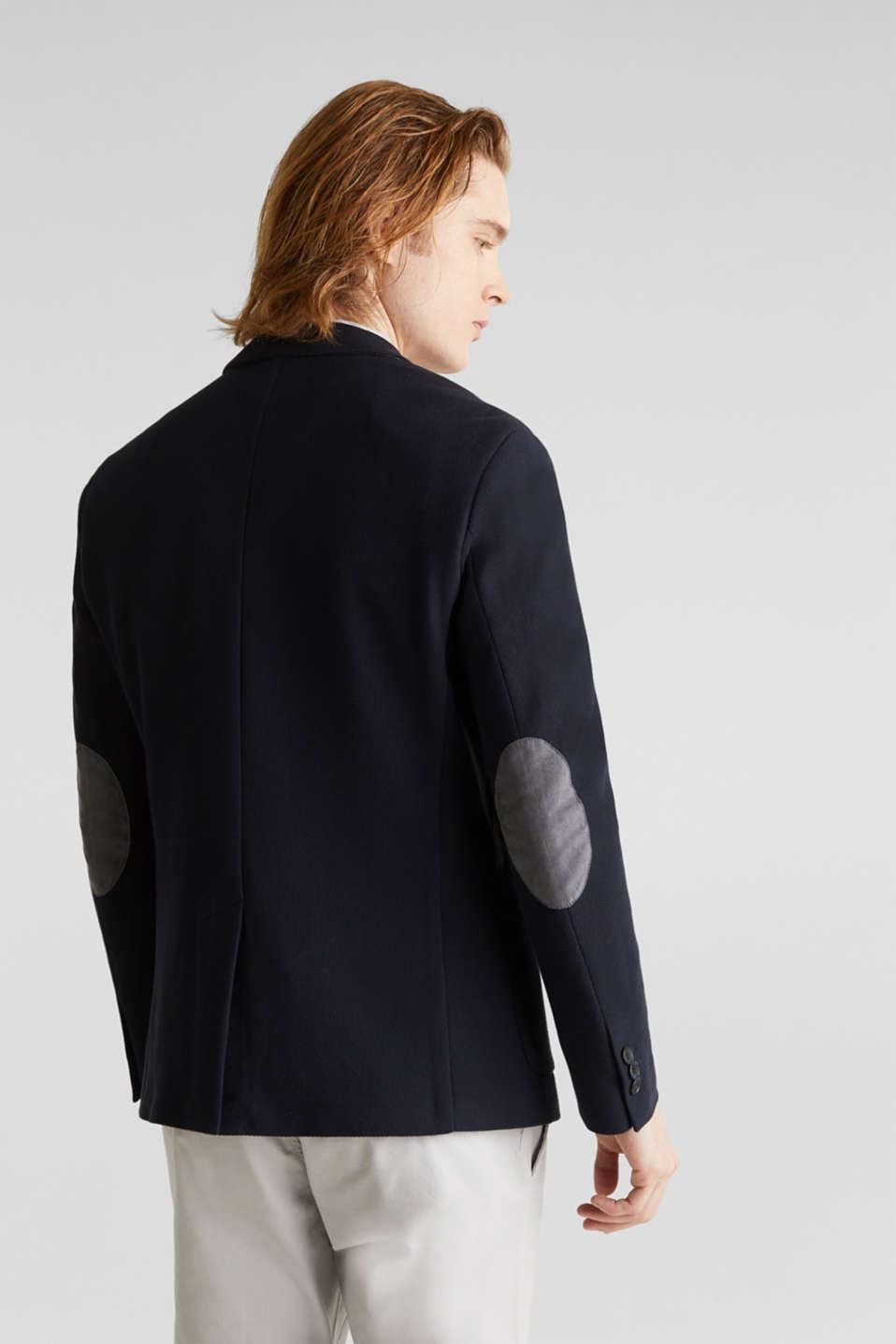 sports jacket made of 100% cotton, DARK BLUE, detail image number 3