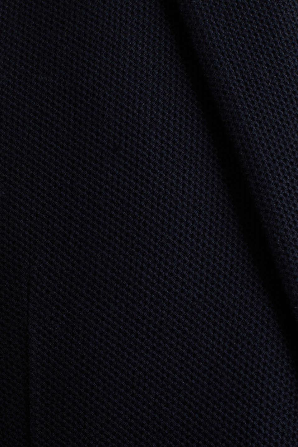 sports jacket made of 100% cotton, DARK BLUE, detail image number 4