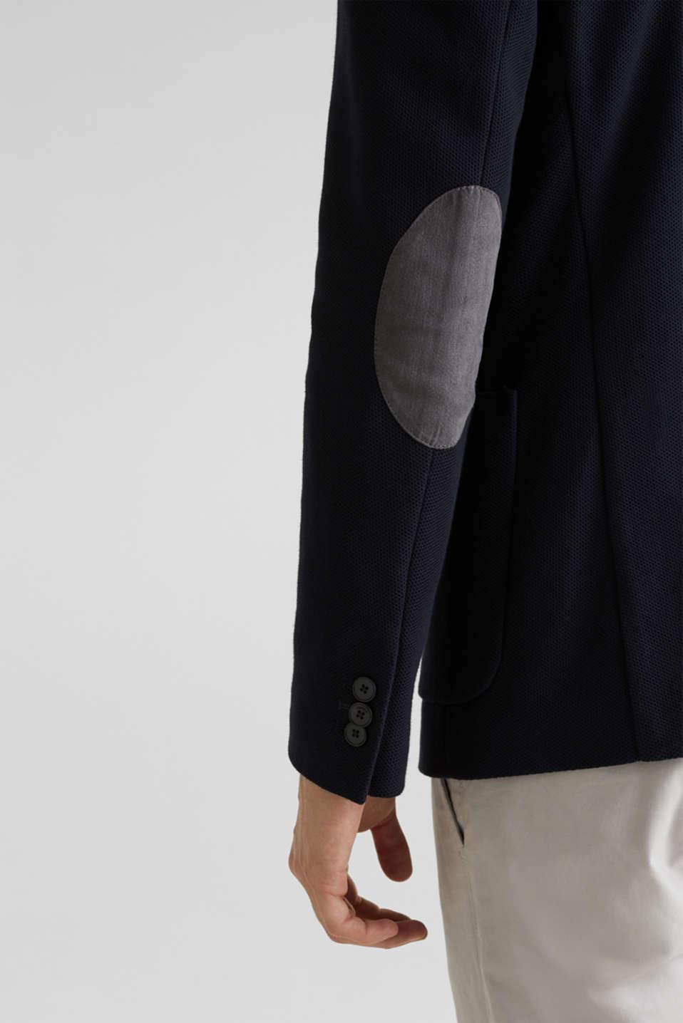 sports jacket made of 100% cotton, DARK BLUE, detail image number 6